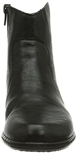 Rieker Y0761 Damen Kurzschaft Stiefel Schwarz (schwarz / 00)