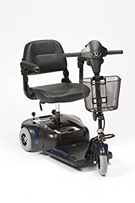 Drive Medical Prism 3 Mini Class 2 Portable 3 Wheel Mobility Scooter - Blue
