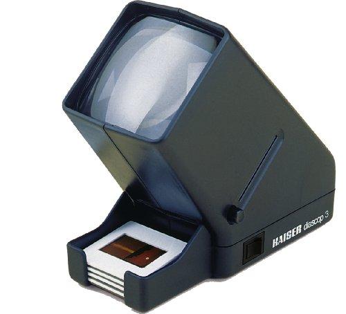 Kaiser Fototechnik diascop 3 3x projecteur de diapositives - projecteurs de diapositives (80 x 170 x 160 mm, 1,5 V)