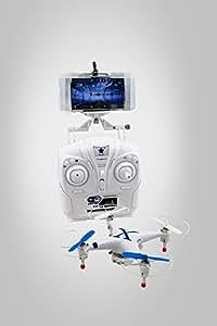 XT-XINTE Quadricoptère Cheerson CX-30W WIFI 4CH temps réel Vidéo RC 6 axes caméra gyro avec émetteur RTF bleu