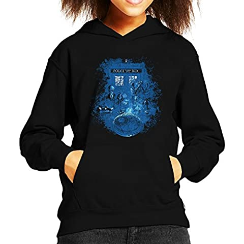 Life Of The Doctor Who Kid's Hooded