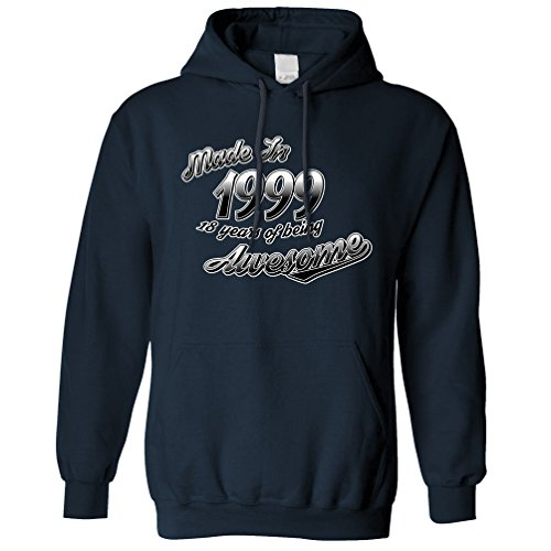 made-in-1999-18-years-of-being-awesome-18th-birthday-year-hoodie-navy