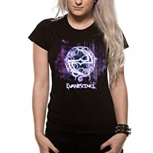 "T-Shirt Femme Noir Evanescence ""Show"" (Taille S)"