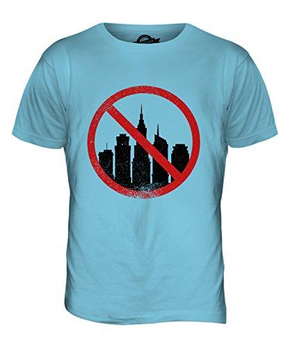CandyMix Akrophobie Herren T Shirt Himmelblau