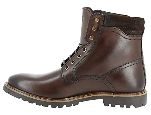 Base London Herren York Combat Boots Braun
