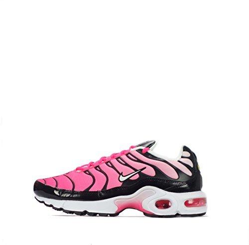 Nike Air Max Plus TN1 Tuned Junior JUVENTUD Zapatos Niña - Rosa Blanco y negro, 37.5