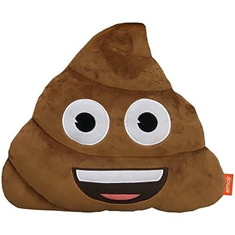 Emoji Poop-Cuscino in peluche, (Miller Cuscino Decorativo)