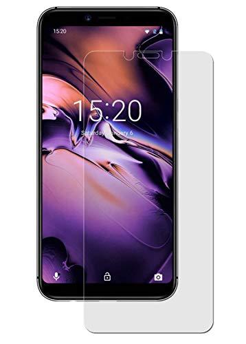 easy-top- Schutzfolie für Umidigi A3 - (3 Stück) kristallklare Anti-Shock Bildschirmschutzfolie - Crystal Clear Schutz Folie - Bildschirmfolie