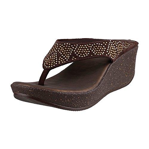 Metro Women's Indian Footwear Occasional Platforms image