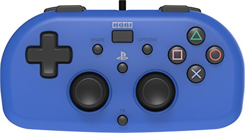 hori controller mini (blu) - ufficiale sony - playstation 4