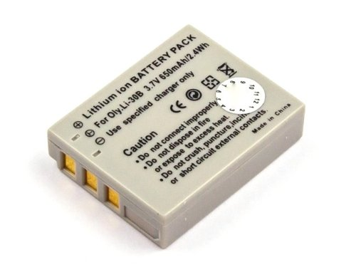 Akku kompatibel mit Olympus µ-mini Digital, µ-mini Digital S, Stylus Verve Digital, Verve Digital S Olympus Mini Digital