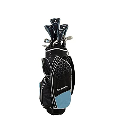 Ben Sayers Left Handed M8 Golf Package Set - sports-outdoor-bags, golf-club-bags