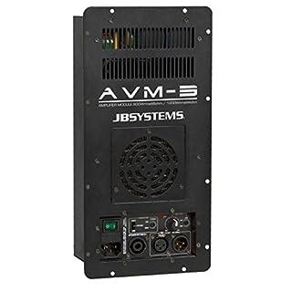 JB Systems AVM-3 - audio amplifiers (XLR / RCA, D, 90 - 250 Hz, 20 - 20000 Hz)