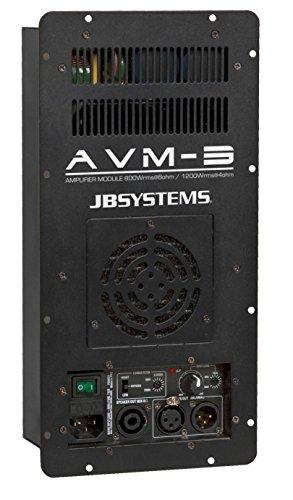 JB Systems AVM-3 Verkabelt Schwarz - Audioverstärker (1300 W, D, 0,1{3563facebef7515f1daa3db53df65b0d905bb08e68c2f85326ab0fc60139ce80}, 92 dB, 1300 W, 800 W)