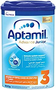 Aptamil Advance Junior 3 Next Generation Growing Up Formula From 1-3 Years, 900G