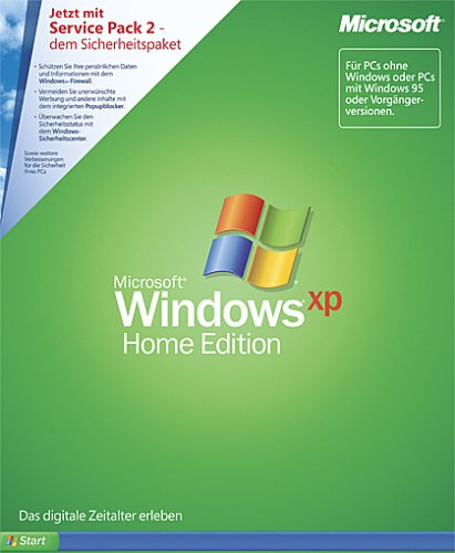 Windows XP Home Edition inkl. Service Pack 2 (PC) (Window Xp Home Edition)