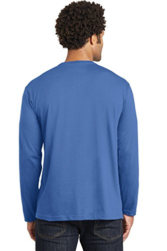 District Made – Long Sleeve Tee. dt105 maritime blue