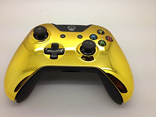 Xbox ONE Gold Chrome Controller Housing Shell – Original Front Plate 418QBwpU1qL