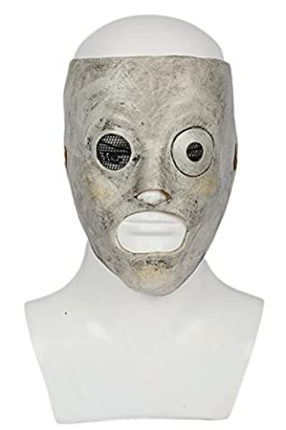 Corey Mask Cosplay Costume Deluxe Latex Metal Band Fancy Dress