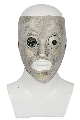 Kostüme Slipknot (Corey Maske Halloween Cosplay Kostüm Herren Latex Gesicht Mask Erwachsene Verrücktes Fancy Dress Party)