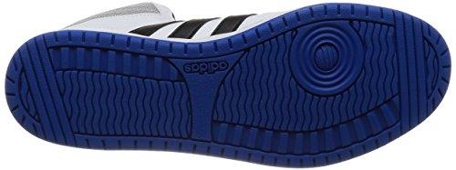 adidas Hoops VS Mid, Chaussures de Sport Homme Blanc Cassé - Blanco (Ftwbla / Negbas / Azul)