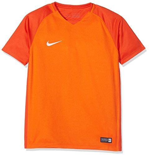 Nike/dry trophy iii jsy maglietta, bambini, bambino, y dry trophy iii jsy, arancione (safety orange/team orange)/bianco, s