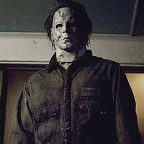 Rob Kostüm Halloween Myers Zombies Michael - Halloween Film Latex Horror Michael Myers Maske Erwachsene Cosplay Vollgesichts Halloween Kostüm Party Requisiten Masken