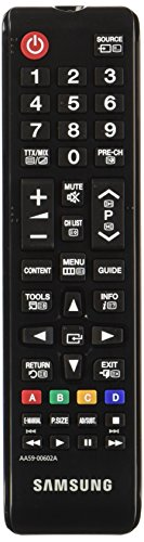 Samsung AA59-00602A - Mando a distancia de repuesto para TV, color negro