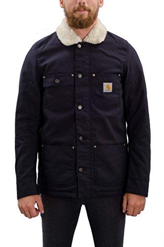 Carhartt, Phoenix Coat - Giacca da uomo, colore blue rinsed, taglia M
