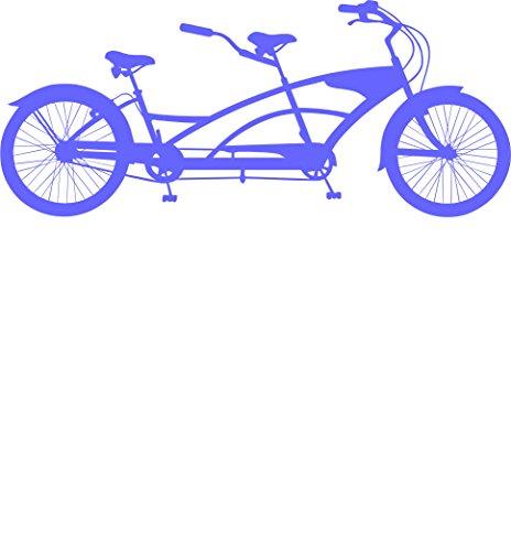 Cicli Ferrareis adesivo Tandem 5x5cm stikers Bike personalizzabile