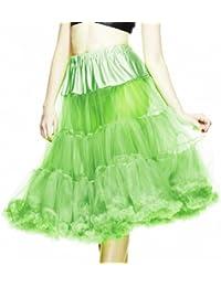 Hell Bunny Petticoat SWING LONG green