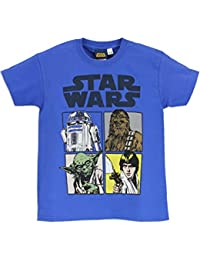 Star Wars Jungen Star Wars T-Shirt Kurzarm