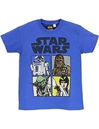 Star Wars - Luke Skywalker T-Shirt à Manches Courtes - Garçon