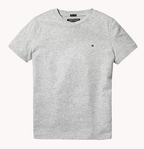 Indigo Knit Pants (Tommy Hilfiger Jungen T-Shirt Boys Basic Cn Knit S grau (13) 128)