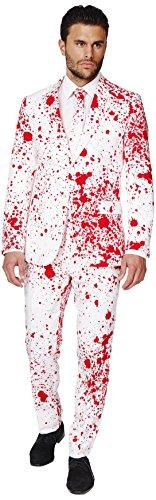 OppoSuits OSUI-0036-EU52 - Bloody Harry - Halloween Kostüm, Blut Anzug, Größe 52, - Halloween Opposuits