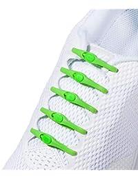 Hickies 2.0: Notre Version Améliorée. Lacets élastiques de taille unique, compatibles avec toutes vos chaussures!