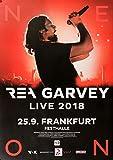 TheConcertPoster Rea Garvey - Live, Frankfurt 2018 | Konzertplakat | Poster Original