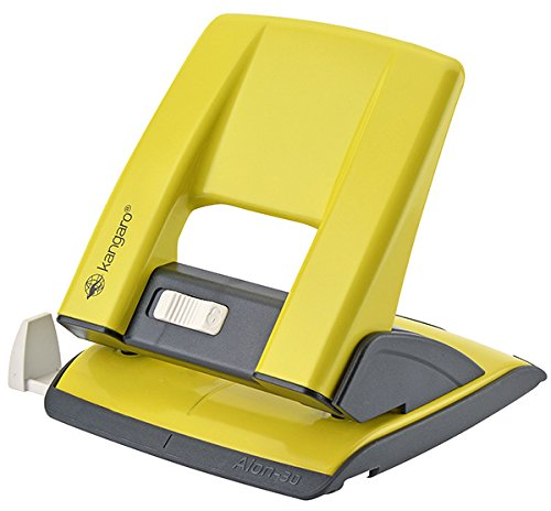 KANGARO KAA30-06 Aion-30G/S Locher, bis zu 30 Blatt, Metall, in PP-Box, gelb