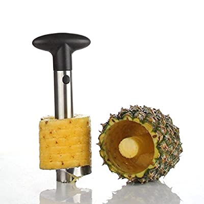 Pineapple Corer for Makes Perfectly Shaped Pineapple Rings