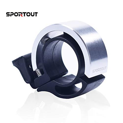 Sportout - Anillo aleación Aluminio Bicicleta Sonido