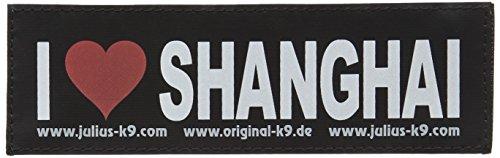 Julius K9 162LR-G-43256 Klettaufschrift, Naughty & Nice, Schwarz (43256)