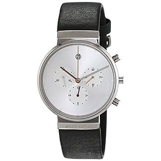 Jacob Jensen Reloj analógico para Hombre de Cuarzo con Correa en Piel Item NO.: 606