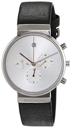 Jacob Jensen Men's Chronograph Quartz Watch with Rubber Strap Item NO.: 606
