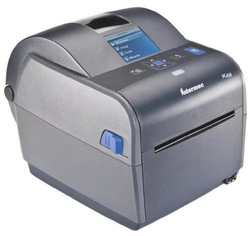 Intermec PC43d Thermodirektdrucker / Etikettendrucker, 203 DPI, Grau, 203,2 mm/s, IPL, XML, ZPL II, USB, 128 MB