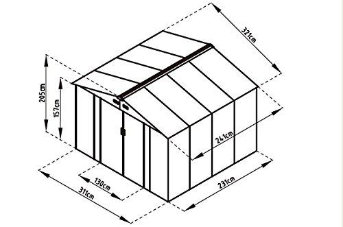 Gardiun Outdoor, S.L.U. Caseta Metálica Bristol KIS12804