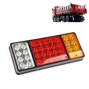 HQS® 2 x Waterproof LED TRUCK Trailer Tail Light Stop Rear Turn Indicator Reverse Lamp