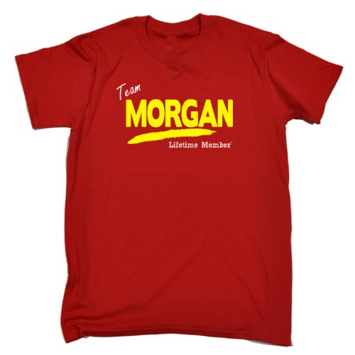 Its A Surname Thing Men's - 'TEAM MORGAN LIFETIME MEMBER' FAMILY NAME - Men's T-shirt