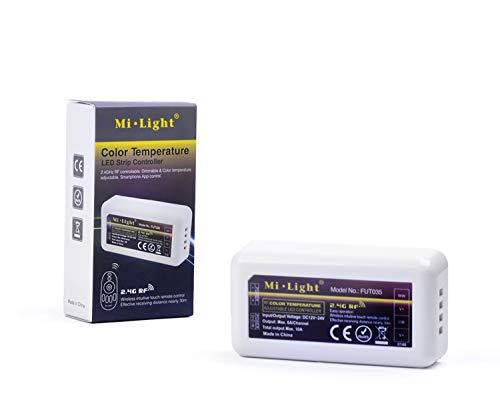 KingLed - Mi-Light Produkte Wi-Fi Dual White CCT mit Kelvin Variablen Qualitäten (Empfänger für LED-Streifen) Dual-white Led
