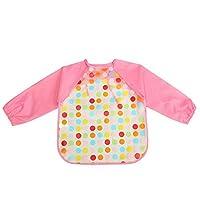 Sanwood® Cute Baby Boy Girl Waterproof Long Sleeve Bib Art Apron Smock