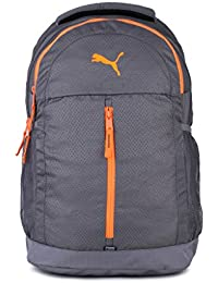 Puma Quiet Shade and Shocking Orange Casual Backpack (7554703)